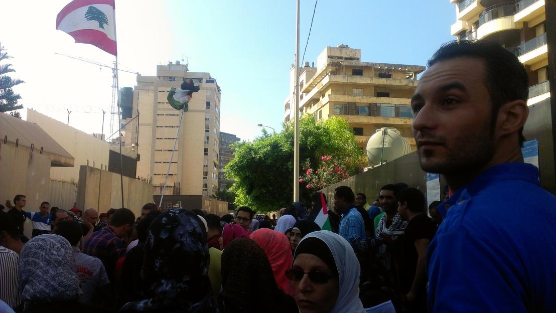 protest at unhcr