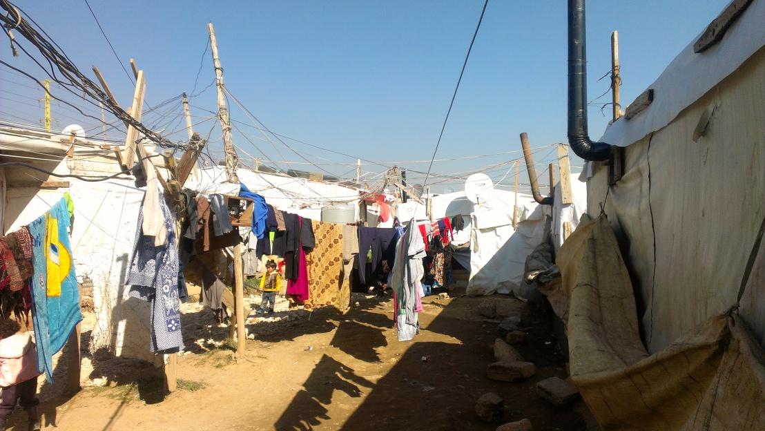 Lebanon winter 2014, Beqa'a Syrian refugees camp